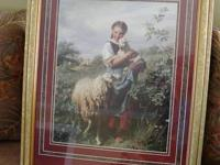 "House Interiors ""The Shepherd's Daughter"" Picture."