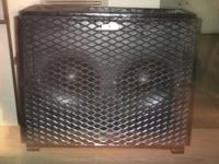 "for sale: homemade 2-10""guitar speaker cabinet! this"