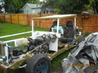 1992 chevy s-10 frame,engine and driveline, 2.8ltr