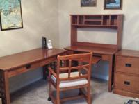 Office Furniture Desks and File Cabinet -