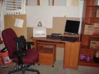 The best deal on craiglist !!! Small home office suite;