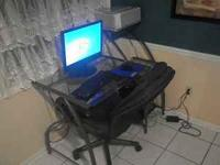 Desktop PC w/ 19 inch LCD monitor - Computer Desk with