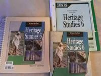 Bob Jones Press  Heritage Studies 6th grade  (History)