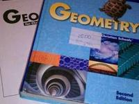 Ninth grade geography book, student activity guide, and