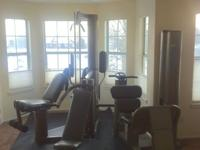 Vectra On-Line 1500 Home Gym Excellent Condition and a