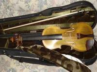 For sale: Handcrafted copy of Strabivarius full size