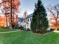 Fabulous colonial on corner lot with views of the