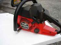 For sale, Homelite 330 16''chainsaw with 3 good extra