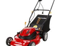 The Homelite 20 in. electric walk-behind mower features