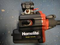 Homelite gas weed eater in great condition. Works