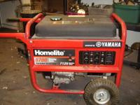 This is a homelite generator with a 5700 watt rating