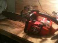 Homelite Super 2 chainsaw, great running saw, very
