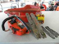 For sale is a Homelite Super 2 Tob Handle Chainsaw with