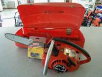 For sale is a Homelite XL2 top handle chainsaw. It