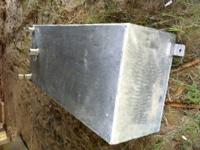 homemade aluminum gas tank 100 obo text or call