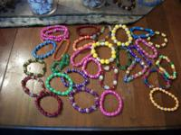 plastic bracelets great for dress up for little girls