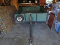 For Sale Home made tilting trailer Could possibly be