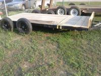 Homemade trailers for sale and can be built by order.