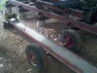 Hand Winch. Front Mounted Log Cart for Towing Large