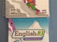 BJU English 3 - consists of educators manual and