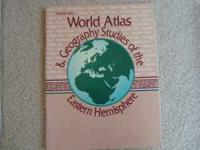 I am selling a World Atlas & Geography Studies of the