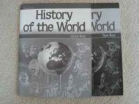 I am selling History of the World Teacher Test Key and