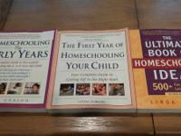 We have a lots of homeschooling material. I have a