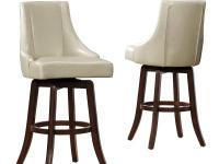Add chic seating to your kitchen, bar, basement, or