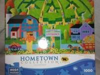 Today we have for you a Hometown Collection 1000 piece