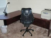 For Sale - (1) Hon Series 10500 series mohagany desk