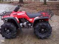 Honda 300 four-wheeler, also know as the TRX300, has a