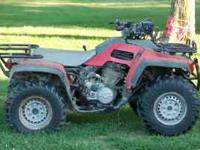 Nice Honda Foreman 4wd atv. Good small size for getting