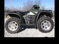 VERY NICE 2007 HONDA 500 FOREMAN 4X4, OVER $1000 WORTH
