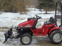 HERES A HONDA 2013 COMPACT TRACTOR..ITS IN GREAT