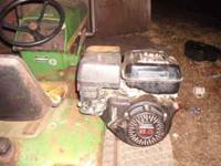 I have Honda 8 Hp horizontal shaft engine for sale runs