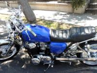 HONDA 836CC CLASSIC / VINTAGE 1971 4 to 1 VANCE AND