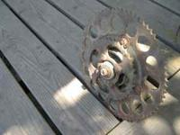 this is the dual rear sprocket....i am not a collector