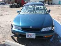 I hava a Honda accord 95 4 door sadan auto for sale it