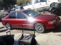 I am selling my 1994 honda accord dx it runs good
