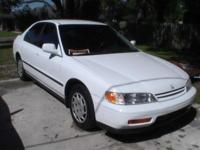 honda accord, 147 k miles, new AC, radiator,