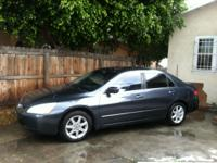 I AM SELING A HONDA ACCORD 2003 WITH 153000 MILES