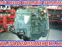 HONDA REBUILD TRANSMISSION Fits Accord Years 1998,