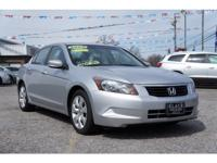 Here is a super nice, one owner Honda Accord that is