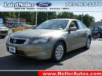 You can't go wrong with this beige 2009 Honda Accord