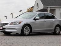2012 Honda Accord LX Sedan    *Silver Exterior with