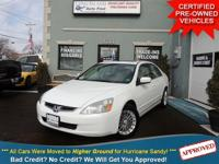 TAKE A LOOK AT THIS 2004 HONDA ACCORD EX WITH ONLY