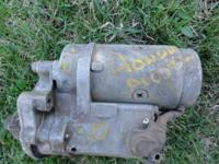 1980 Accord Starter  $25.00 As is - you can test it