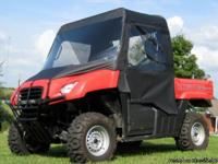 HONDA BIG RED UTV CAB ENCLOSURE ON SALE Honda Big Red