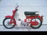 1959 Honda CA102 SUPER CUB It's a real nice ride for