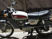 I am selling a beautiful, 1971 Honda CB 100.She is in